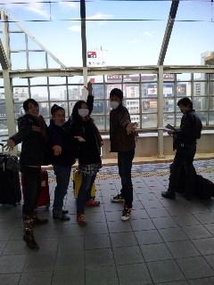 岐阜出発!名古屋へ〜